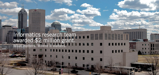 Informatics research team awarded $2 million grant.