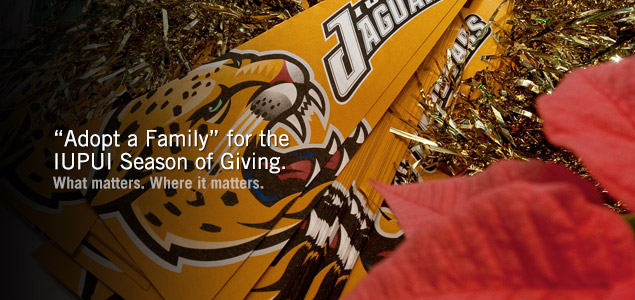 """Adopt a Family"" for the IUPUI Season of Giving"