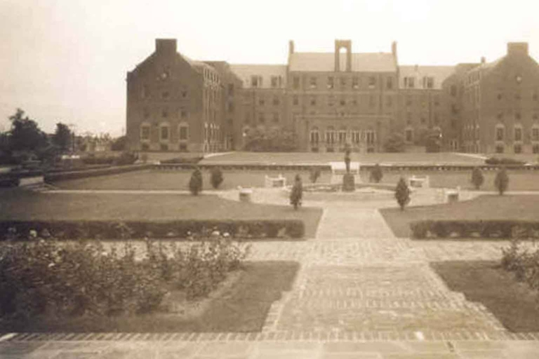 Historic photo of the Ball Gardens