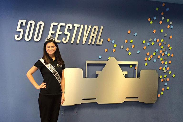 IUPUI student and 500 Festival Princess Amna Sohail