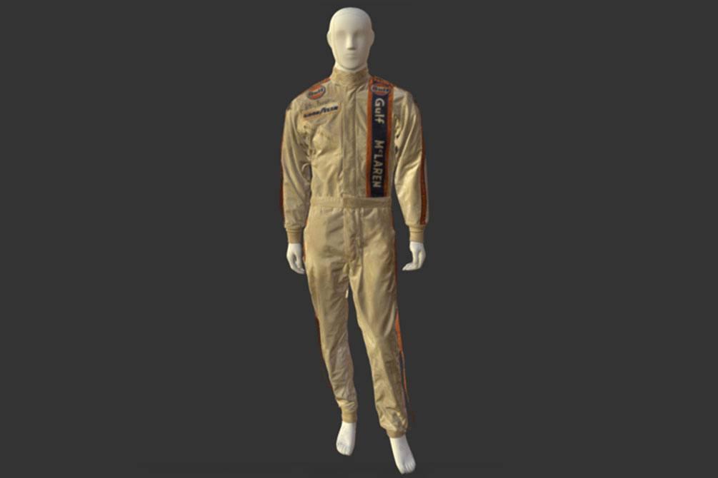 3D scan of vintage racing suit