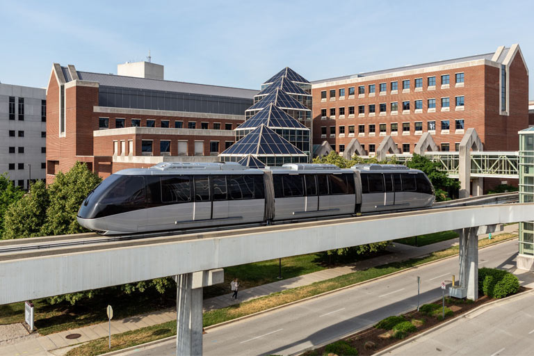 IU Health's now-defunct People Mover